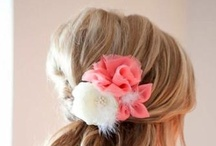 Wedding Hair / Wedding ideas, how-to hair styles and bridal looks for a romantic destination wedding.