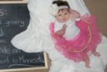 Hadley's Weekly Chalkboards / My lil lady growing up