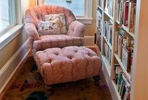 Reading Spot ~ Cozy Corners / by Wanda Toney