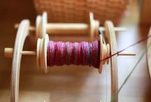 Spindles, Yarn and Fibers / by The Merry Spinster