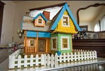 Gingerbread Houses / Gingerbread houses small and large! / by Craftster