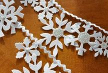 Snowmen & Snowflake Crafts / Handmade and do-it-yourself snowmen and snowflake projects / by Craftster