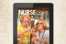 On the Cover / Did you know Nurse.com is free on our Nurse.com Unbound app and digital issue? Enjoy them all today! / by Nurse.com