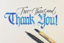 Calligraphy / by Colleen VanderLinden