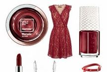 Color of the Year 2015: Marsala / Beautiful destination wedding accessories, makeup, gowns, and shoes inspired by the Pantone 2015 Color of the Year, Marsala.