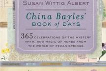 The China Bayles Book of Days / This board is for readers of the China Bayles BOOK OF DAYS, a daily herbal calendar that gathers tidbits and treasures about plants and helps you find ways you can put more green into your daily life. Follow this board for daily updates on the herbs in this book. At Barnes/Noble, http://bit.ly/1F6fYL2 At Amazon http://amzn.to/1FIlOHW