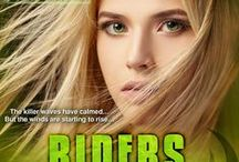 RIDERS ON THE STORM / Book 2 in the TSUNAMI BLUE SERIES                 by Gayle Ann Williams