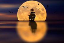 I'm sailing away...