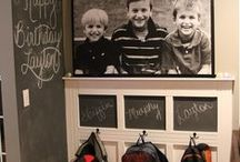Chalkboard Wall Inspiration / by Mama and Baby Love