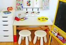 Playroom makeover / by Mama and Baby Love