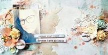 My scrap and projects / Here you can find all my creative projects, vidéos, scrapbooking, mixed media as well as tags, canvas and more! I hope you'll enjoy!
