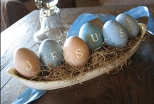 {Easter Time Fun} / Easter crafts   Easter decorations   Spring decorations   Easter baskets   Easter recipes   celebrate Easter   Resurrection Sunday   Easter Family Ideas   Easter Traditions