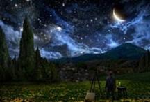 Van Gogh / Van Gogh akışan ışık renk devinimini tablolarına yansıttı.  Van Gogh yaklaşımını daha iyi anlamamız için çağdaş sanatçı ve bilim insanlarının yaptığı çalışmaları bir arada sunuyorum.  Sayın Alex Ruts'a Sayın Petros Virellis'e Sanatçı yaklaşımı ile doga olaylarını yorumlayan Sayın NASA çalışanlarına  bir sanatsever olarak teşekkür ediyorum