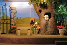 iKidmin:Stage Inspiration / Ideas and inspiration for children's department areas.