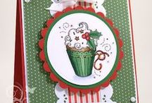 Handmade Christmas Cards / Handmade Christmas cards that caught Polished Moxie's eye for all kinds of reasons. #HandmadeCard, #HomemadeCard, #HandcraftedCard, #Card, #ChristmasCard, #XmasCard, #HandmadeChristmasCard, #Christmas, #Xmas, #CardIdea, #HandmadeXmasCard, #CardForChristmas, #CardForXmas, #HandmadeCardForChristmas, #HandmadeCardForXmas