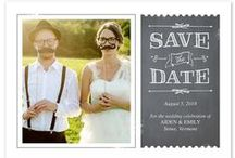Wedding Invites & Save the Dates / Before the I Do comes the We Will... Fun, creative ideas for announcements, save the dates and wedding invites.