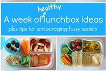 Food ~ Lunch Box Ideas