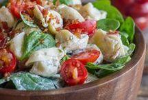 {Salad Recipes & Ideas} / Salad Recipes   Vegetarian Salad Recipes   Healthy Salad Recipes   Salad Dressing Recipes   Fruit Salad Recipes   Pasta Salad Recipe   Salad Recipe for Dinner   Salad Recipe with Chicken   Easy Salad Recipe   Quinoa Salad Recipe   Spinach Salad Recipe   Summer Salad Ideas   Party salads    Pasta Salads   Macaroni Salads   Picnic Salads   BBQ Salads