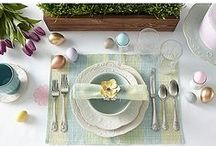 Easter Entertaining / Hippity hop into the Easter season with this eggsellent lineup of Easter-themed items.