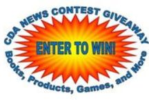Contests and Promotions / CDA News Contest Giveaway - Books, Products, Games and More.