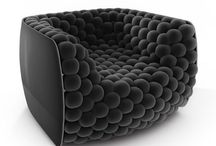 Cool Funky Unique Chairs / Armchairs as unique as your fingerprint.