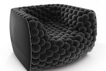 Cool Funky Unique Chairs / Armchairs as unique as your fingerprint.