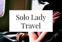 SOLO LADY TRAVEL / Solo travel isn't hard or scary! I've been to 32 countries on my own - you can travel alone, too. Tons of great resources, tools, and travel itineraries.