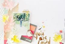 Scrapbook Layouts / by Alison Carlson
