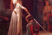 Art: Pre-Raphaelites (19th-early 20th c.) / 1848 - early 20th century