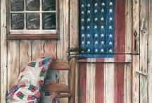 Americana / Folk Art, decor etc