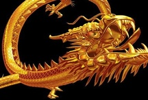 China , The Dragon ☼ / - Chinese Dragon-  It is said to be able to disguise itself as a silkworm, or become as large as our entire universe.