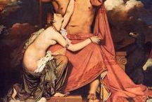 """Art: Neoclassicism (18th-19th c.) / """"The main Neoclassical movement coincided with the 18th century Age of Enlightenment, and continued into the early 19th century, latterly competing with Romanticism."""" (Wikipedia)"""