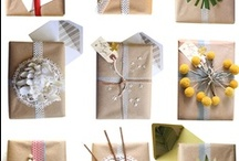 Gift Wrapping Ideas / by flowerlily1