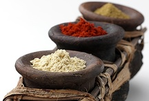 La Especiería  -Spices & Herbs- / A spice is a dried seed, fruit, root, bark, or vegetative substance primarily used for flavouring, colouring or preserving food. Sometimes a spice is used to hide other flavours. Spices are distinguished from herbs, which are parts of leafy green plants also used for flavouring or as garnish.