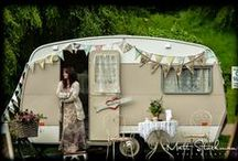 Trailer Chic / Oh would you believe what can be done with a Camper? ♥♥ now to choose... French or Bohemian?