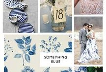 A WHITE AND BLUE WEDDING / Inspiration for blue and white wedding themes