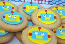 Robots / Mad Science Party at Te Quiero Party