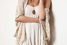 Bundle Up! / Stylish jackets, sweaters, ponchos, and wraps to wear for both fashion and warmth
