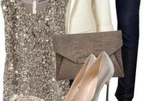Holiday Glam / Elegant and festive items for a fashionable holiday!