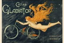 Vintage Bicycle Posters / VINTAGE BICYCLE POSTERS are wicked cool, right? We are CHICAGO BICYCLE COMPANY. http://www.chicagobicyclecompany.com