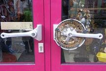 Bicycle Recycle / Amazing & Creative Uses for Bike Parts! We are CHICAGO BICYCLE COMPANY. http://www.chicagobicyclecompany.com