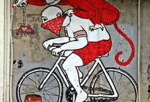 Bicycle Graffiti / LOVE IT! Collection of Bicycle-specific street art! ENJOY!  We are CHICAGO BICYCLE COMPANY. http://www.chicagobicyclecompany.com