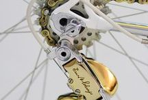 Silver & Gold Bikes / Silver and gold, silver and gold - Ev'ryone wishes for silver and gold - How do you measure its worth? Just by the pleasure it gives here on earth... We are Chicago Bicycle Company http://www.chicagobicyclecompany.com