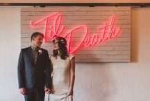 NEON INSPIRED WEDDING / A collection of neon / fluorescent goodness to inspire your big day!