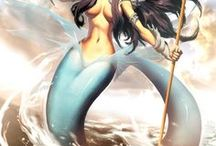 Art: Mermaids & Mermen
