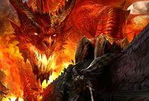 Art: Dragons & Dragon Warriors