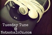 Listening to... / Join me each Tuesday for my Tuesday Tunes Linky Party!  / by Natasha in Oz @ natashainoz.com
