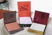 Un-stationary Stationery / Some people like boxes of chocolate, I like boxes of cute stationery. / by Melody V