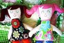 Handmade Dolls and Stuffies / by Sue Weems