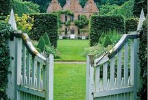 """My Fantasy English Country House / """"I don't think anyone at all is morally responsible for what he or she does in an English country house.""""--Oscar Wilde"""